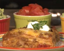Burito pie of Mexicaanse Lasagne-a